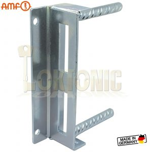 AMF 145-40 Heavy Duty Zinc Plate Steel Striker Wrought Iron Gate Brickwork