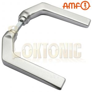 AMF 466G Cranked Lever Handle To Suit 140U Stainless Steel Cased Gate Sash Lock