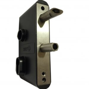 AMF107G Heavy Duty Gate Sash Lock For Wrought Iron Gates Made In Germany