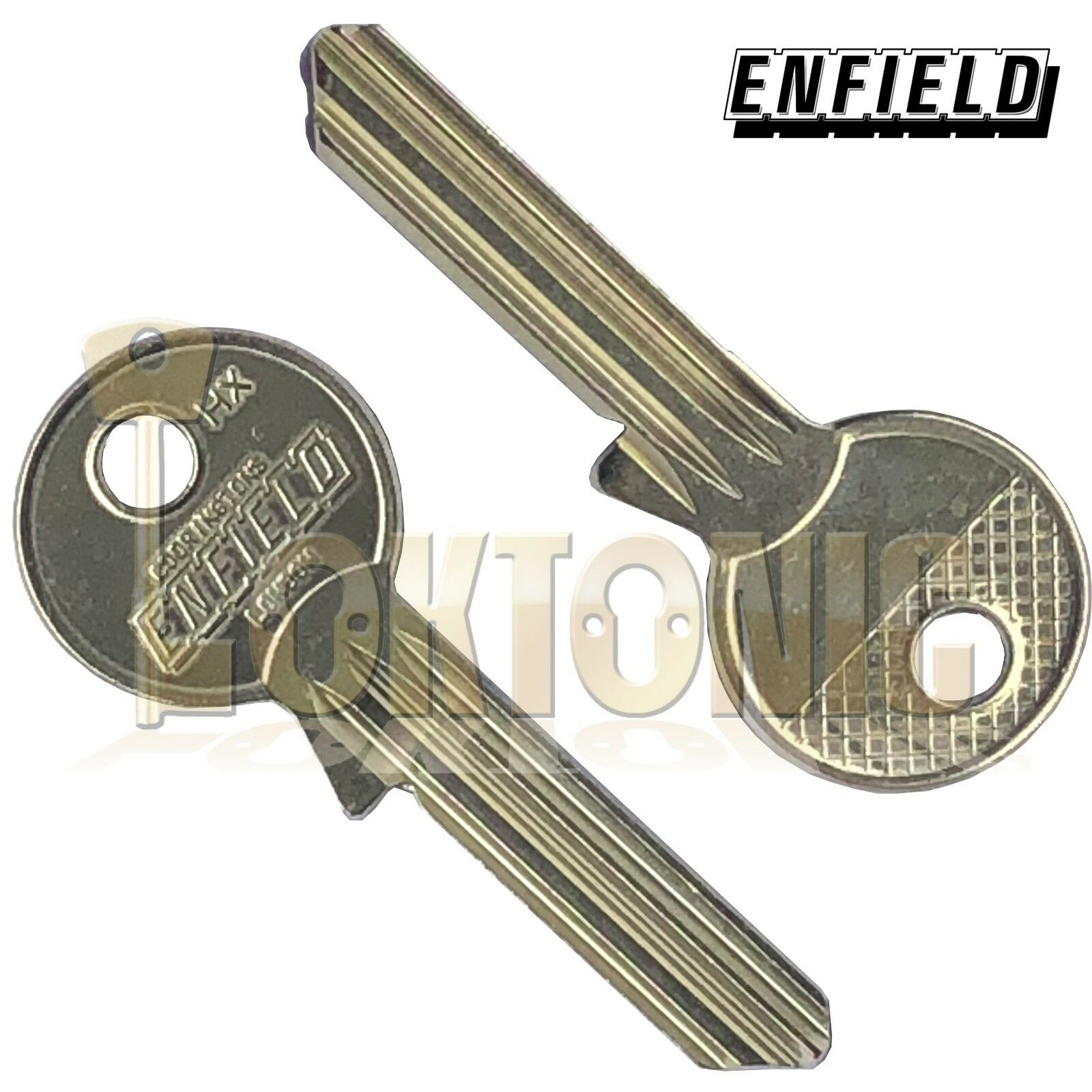 Enfield Genuine HXKB6 Key Blanks To Fit Any 6 Pin Enfield Cylinder