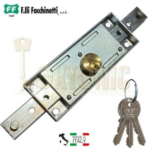 Facchinetti Heavy Duty Centre Roller Shutter Garage Door Lock Keyed Alike