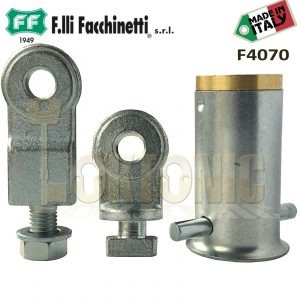 Facchinetti Heavy Duty Steel Roller Shutter Ground Anchor With Padlock 3 Keys
