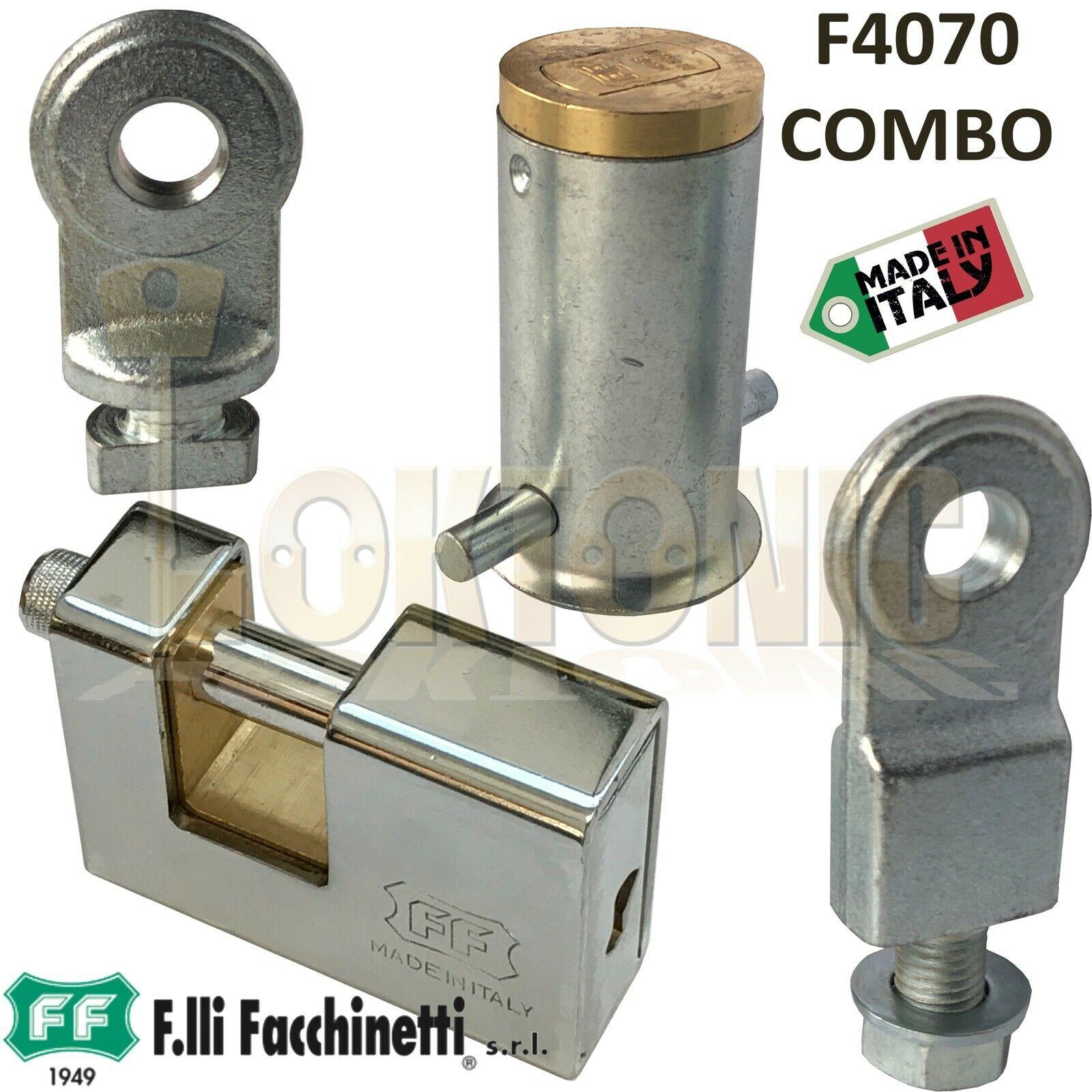 Facchinetti Heavy Duty Steel Roller Shutter Ground Anchor With Padlock 3  Keys