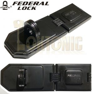 Federal FD1076 Super High Security Steel Garage Shed Van Gate Hasp And Staple