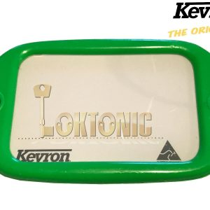 Kevron Pack10 LT Green Large Hotel Key Tags Garage School Show Room Lockers Shed