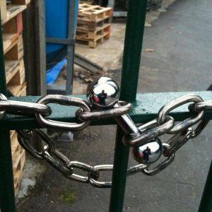 Meroni ME3388-36 Solid High Security Motorbike Van Gate Shutter Shed Padlocks