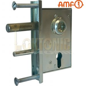 AMF107ZW Heavy Duty Gate Sash Lock For Wrought Iron Gates Made In Germany