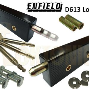 Enfield Federal Garage Shed Van Gate Door Locks Bolts Long Key MK8