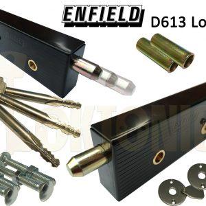 Enfield Federal Garage Shed Van Gate Door Locks Bolts Long Key MK8