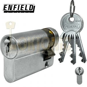 Enfield Garage Van Door Roller Shutter Key Switch Half Euro Cylinder Lock Barrel