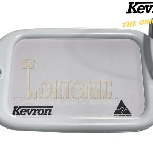 Kevron Pack10 White Large Hotel Key Tags Garage School Car Show Room Locker Shed