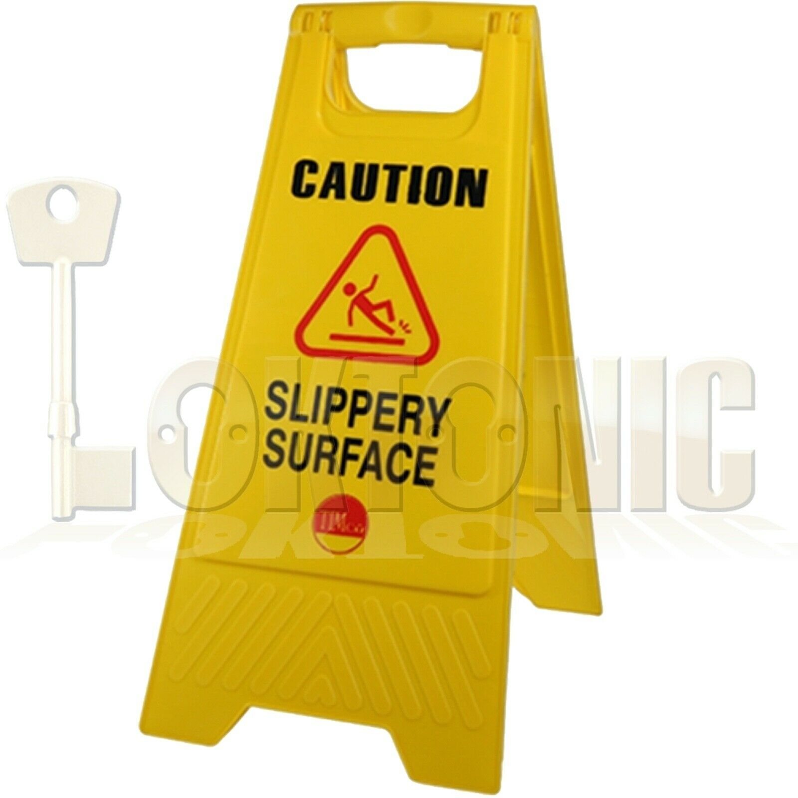 Professional Caution A-Frame Safety Warning Sign Slippery Surface 610 x 300 x 30