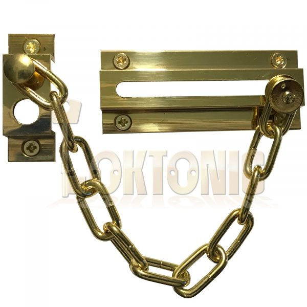 Strong-Security-Door-Chain-Heavy-Duty-Brass-Safety-  sc 1 st  Loktonic & Strong Security Door Chain Heavy Duty Brass Safety Guard Lock ...