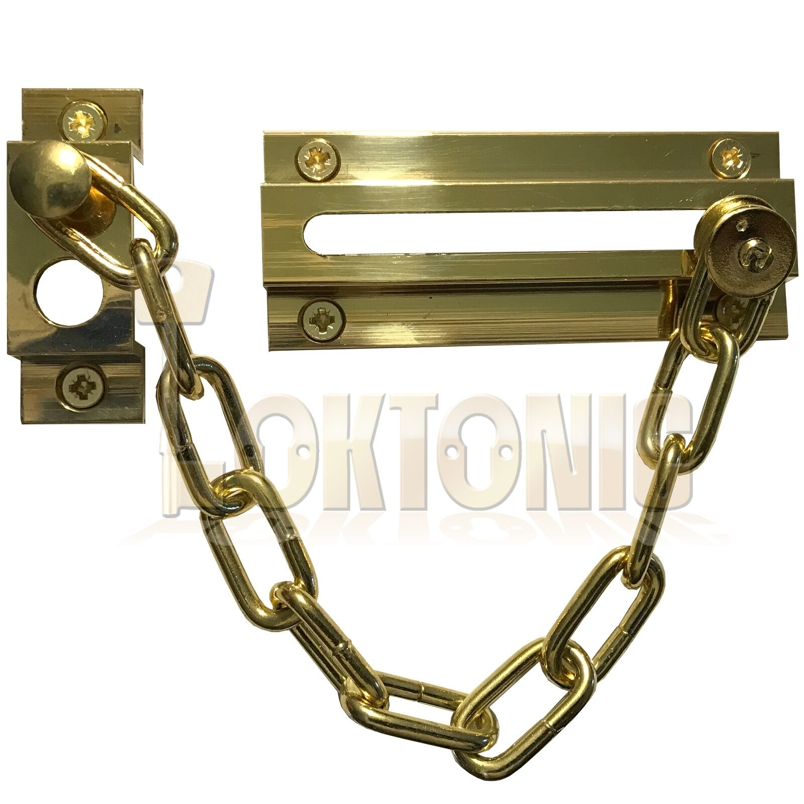 Strong Security Door Chain Heavy Duty Brass Safety Guard