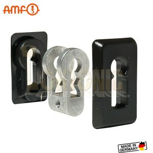AMF Euro Cylinder To Lever Lock Conversion Kit Bit-Key Insert Adapter Set