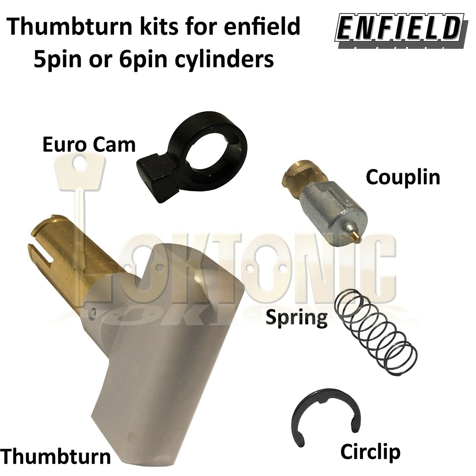 Enfield Genuine Thumb-turn cylinder conversion kit FDKN35