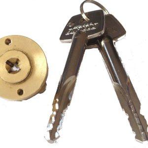 Enfield D613 Garage Door Locks Bolts Replacement Spare Cylinder Plug Cores LH RH
