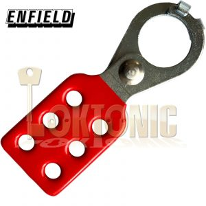 Enfield Isolation Lock Out Hasp Electrician Safety Isolation Lockout Lock off