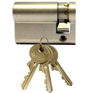Enfield Replacement Cardale Garage Door Euro Cylinder Lock Barrel 40mm 3 Keys