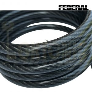 Federal 1.2m 6.3mm Bicycle Quad Bike Security Spiral Steel Loop Cable Chain