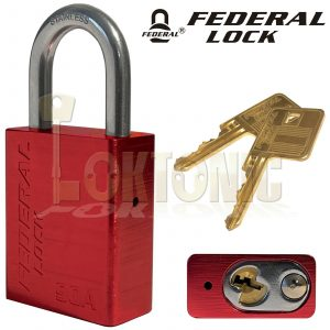 Federal 90A 38mm High Security Weather Resistant Solid Aluminium Padlock