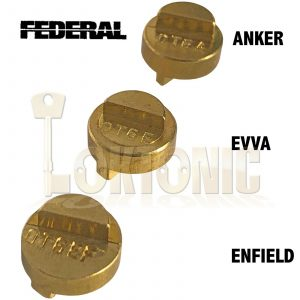 Federal Adaptors For Half Euro Double Cylinders EUX Federal Padlocks