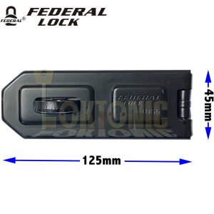 Federal FD1056 High Security Garage Shed Van Gate Steel Hasp And Staple