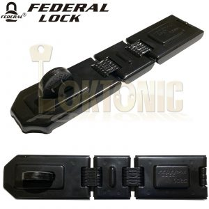Federal FD1085 High Security Steel Garage Shed Van Gate Hasp And Staple
