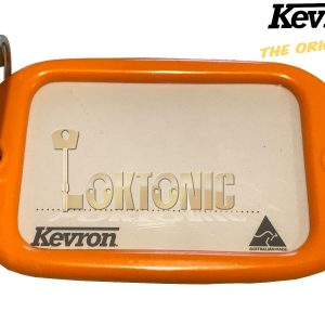 Kevron Pack10 Orange Large Hotel Key Tags Garage School Car Show Locker Shed
