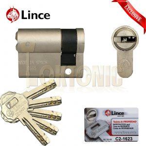 Lince Garage Van Door Roller Shutter Key Switch Half Euro Cylinder Lock Barrel