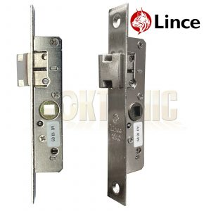 Lince Mortice Narrow Stile Latch With 8mm Spindle Drive UPVc Aluminium Doors