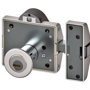 Lince Rim Door Lock High Security Heavy Duty Sliding Dead Bolt Built-In Alarm