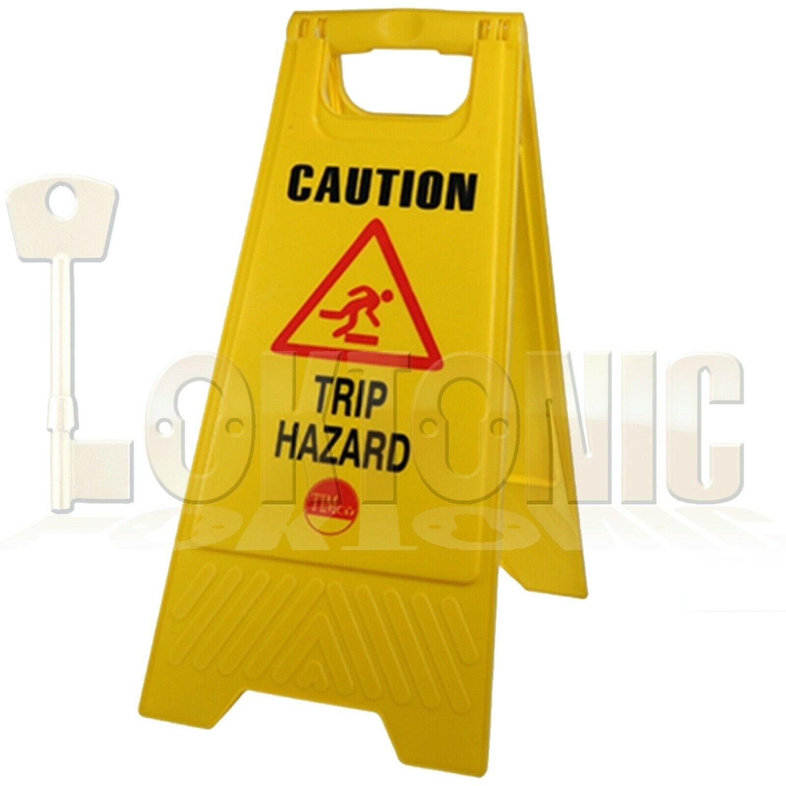 Professional Caution A-Frame Safety Warning Sign Trip Hazard 610 x 300 x 30