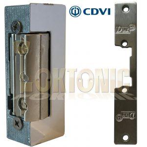 Symmetrical Electric Strike Release 12V-DC 24V-DC Fail Secure Door Mortice Lock