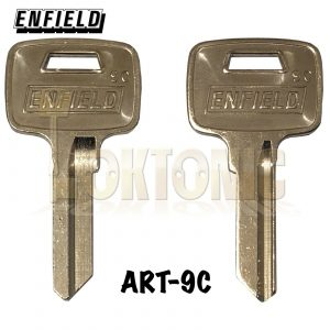 Enfield Genuine 9C Key Blanks To Fit Any Enfield 35mm-40mm Brass Padlocks