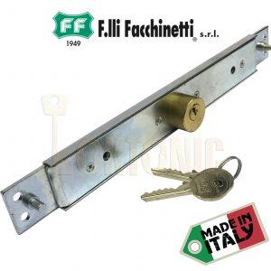 Facchinetti Heavy Duty Narrow Centre Roller Shutter Garage Door Lock