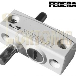 Federal Window French Doors Lock Catches heavy Duty Security Sliding Patio Bolts