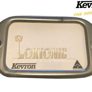Kevron Pack10 Silver Large Hotel Key Tags Weddings Parties Garage School Locker