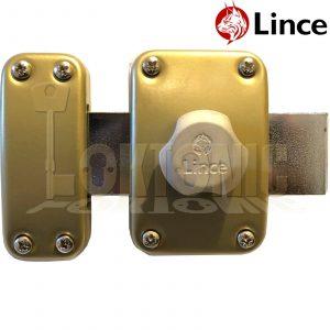 Lince Lock High Security Heavy Duty Garden Gate Shed Garage Rim Dead Bolt