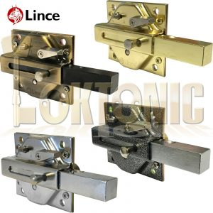 Lince Rim Lock High Security Gate Shed Sliding Bolt Suit 60-70-80mm Thick Doors