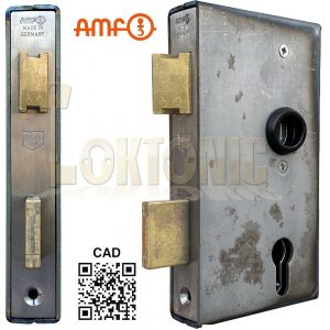 AMF 140UM-30 Heavy Duty Stainless Steel Cased Gate Sash Lock Wrought Iron Gates