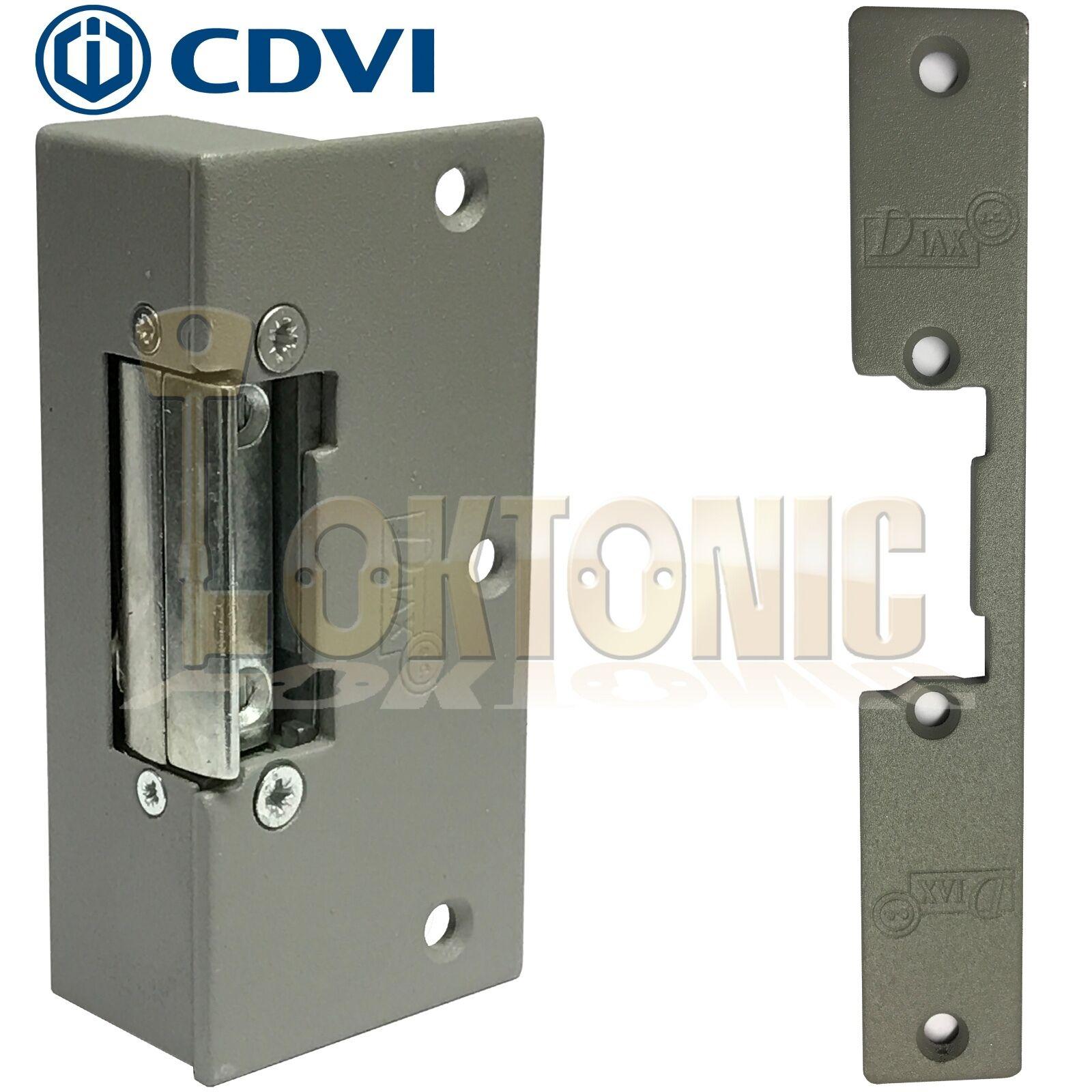 Electric Strike Release 12v Dc 24v Dc Fail Safe Door Rim Mortice Lock Gaeir Loktonic