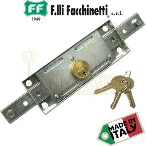 Facchinetti Heavy Duty Centre Roller Shutter Garage Door Lock Made in Italy