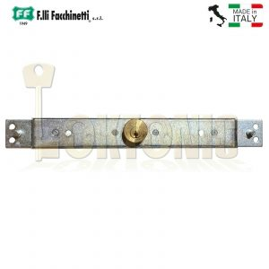 Facchinetti Heavy Duty Narrow Centre Roller Shutter Garage Door Lock Keyed Alike
