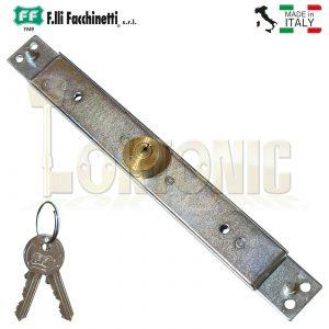 Facchinetti Heavy Duty Narrow Centre Roller Shutter Garage Door Lock Keyed Alike