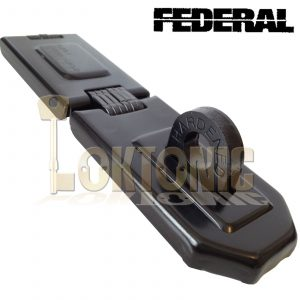 Federal FD1075 High Security Steel Garage Shed Van Gate Hasp And Staple