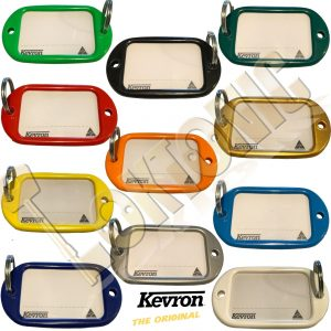 Kevron Pack 10 Giant Hotel Key Tag Garage School Car Show Room Locker 11 Colours