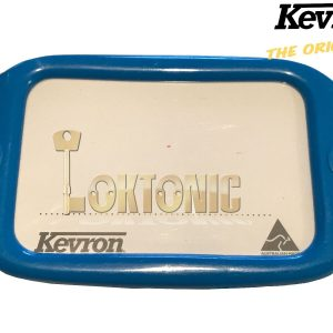 Kevron Pack10 LT Blue Large Hotel Key Tags Garage School Show Room Lockers Shed