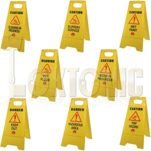 Professional Caution Shield A-Frame Various Safety Warning Signs 610 x 300 x 30