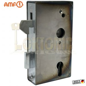 AMF 140S-40 Heavy Duty Stainless Steel Cased Auto Hook Lock Wrought Iron Gates